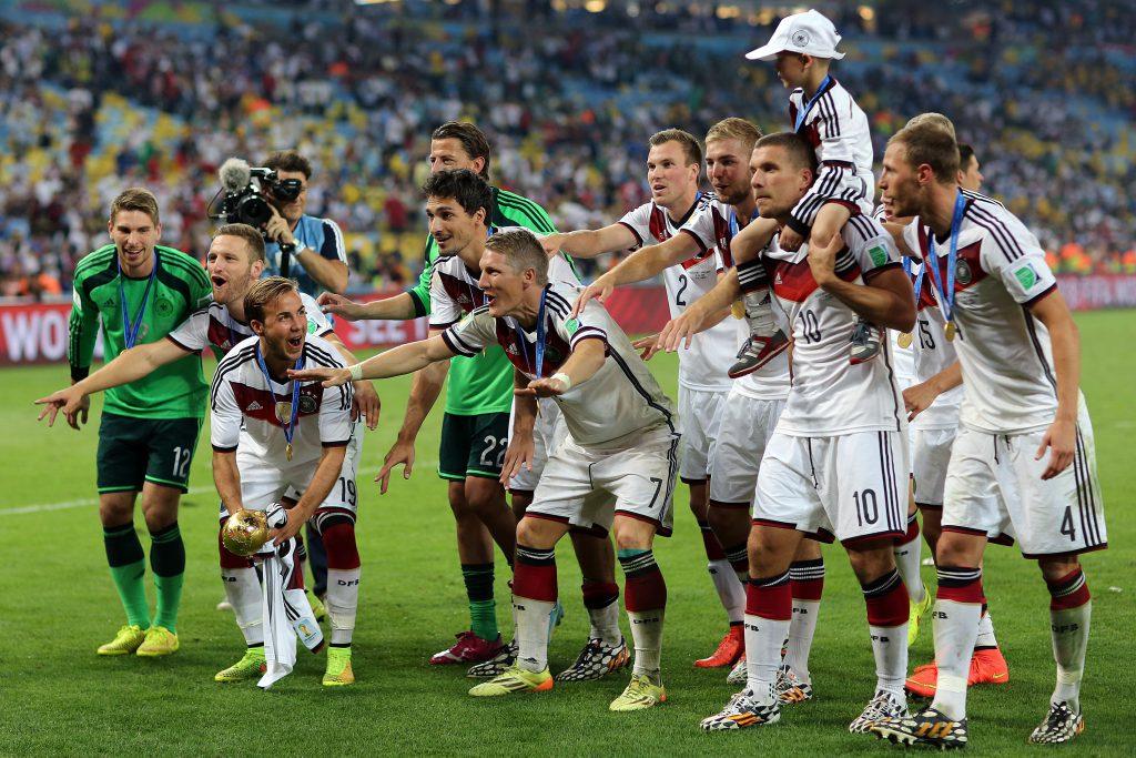 Deutschland will nach der WM 2014 erneut Weltmeister werden!